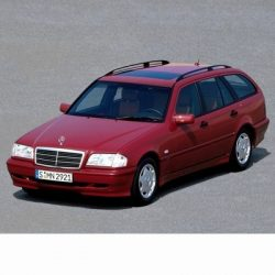 For Mercedes C Kombi (1996-2001) with Halogen Lamps