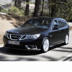 For Saab 9-3 Kombi (2008-2012) with Halogen Lamps