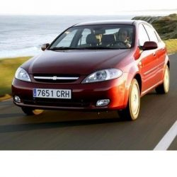 Chevrolet Lacetti (2004-2008) autó izzó