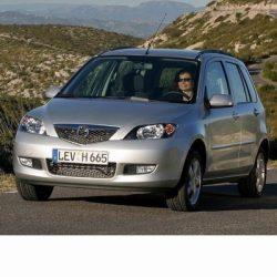 Mazda 2 (2003-2007) autó izzó