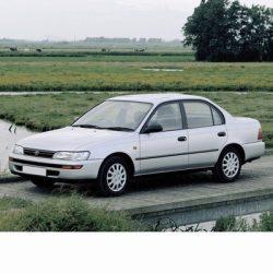 Toyota Corolla Sedan (1991-1997) autó izzó
