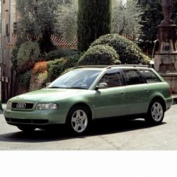 Autó izzók két halogén izzóval szerelt Audi A4 Avant (1994-1998)-hoz