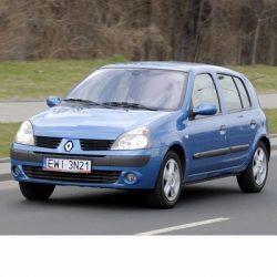 Autó izzók két halogén izzóval szerelt Renault Clio (2001-2005)-hoz