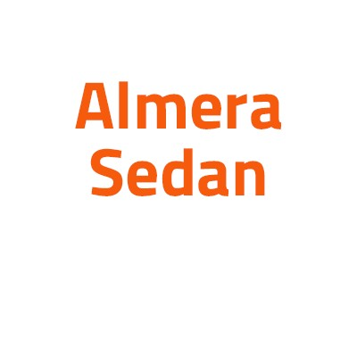 Nissan Almera Sedan autó izzó