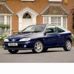 Autó izzók két halogén izzóval szerelt Renault Megane Coupe (1996-2003)-hoz