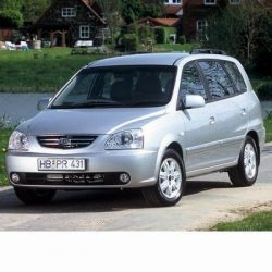 Autó izzók halogén izzóval szerelt Kia Carens (2002-2006)-hez