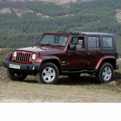 Autó izzók halogén izzóval szerelt Jeep Wrangler (2006-2017)-hez