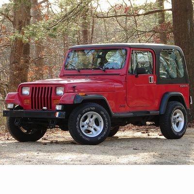 Autó izzók halogén izzóval szerelt Jeep Wrangler (1987-1996)-höz
