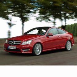 Autó izzók a 2011 utáni halogén izzóval szerelt Mercedes C Coupe-hoz