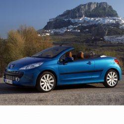 Autó izzók halogén izzóval szerelt Peugeot 207 CC (2007-2009)-hez
