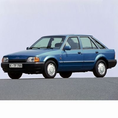 Autó izzók halogén izzóval szerelt Ford Escort (1986-1990)-hoz