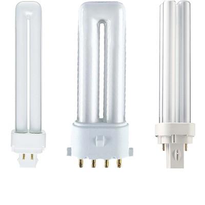 Power compact fénycső