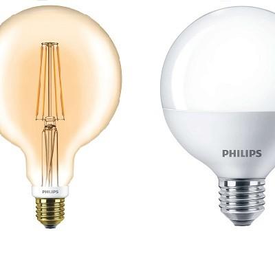 Nagygömb forma E27 LED
