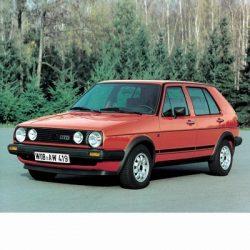 Autó izzók halogén izzóval szerelt Volkswagen Golf II (1983-1992)-höz