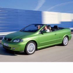 Autó izzók halogén izzóval szerelt Opel Astra G Cabrio (2001-2005)-hoz