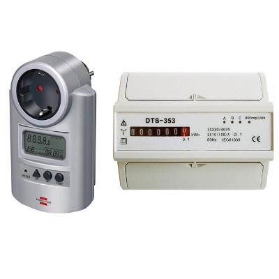 Digitális és mechanikus fogyasztásmérő