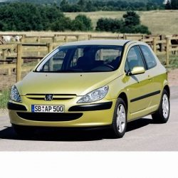 Autó izzók halogén izzóval szerelt Peugeot 307 (2001-2005)-hez