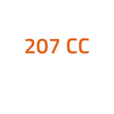 Peugeot 207 CC autó izzó