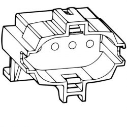2G7 Compact Fluorescent Lamp Holders
