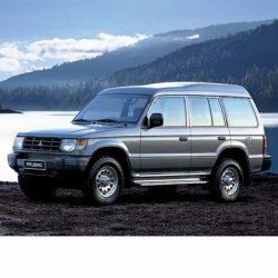 Autó izzók halogén izzóval szerelt Mitsubishi Pajero (1990-1999)-hoz
