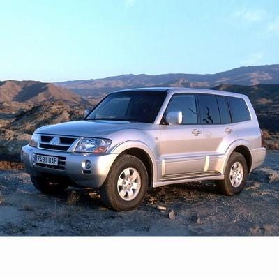 Mitsubishi Pajero (2000-2006) autó izzó