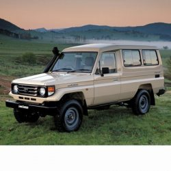 Toyota Land Cruiser (1984-1990) autó izzó