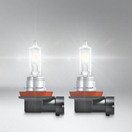 Emelt fényű, normál színhőmérsékletű H11 izzó