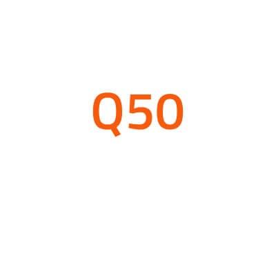 Infiniti Q50 autó izzó
