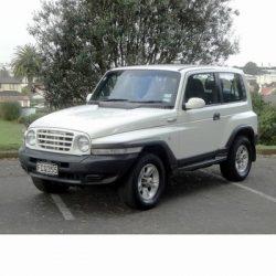 Ssangyong Korando (1996-2006) autó izzó