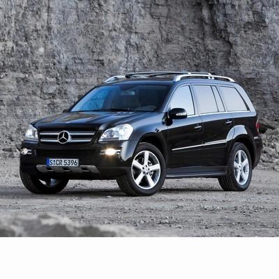 Autó izzók bi-xenon fényszóróval szerelt Mercedes GL (2007-2009)-hez