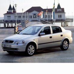 Autó izzók halogén izzóval szerelt Opel Astra G Sedan (1998-2004)-hoz