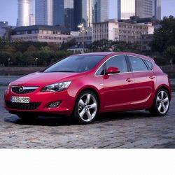Opel Astra J (2010-2015) autó izzó