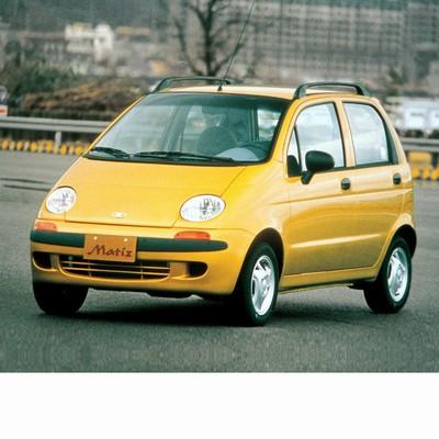Autó izzók halogén izzóval szerelt Daewoo Matiz (1998-2002)-hoz