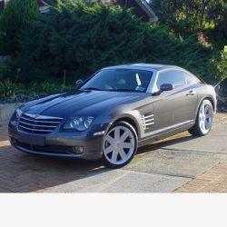 Autó izzók halogén izzóval szerelt Chrysler Crossfire (2003-2007)-höz