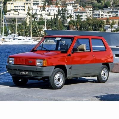 Autó izzók halogén izzóval szerelt Fiat Panda (1980-2003)-hoz