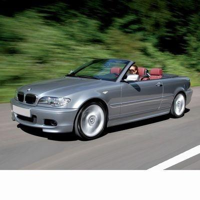 Autó izzók halogén izzóval szerelt BMW 3 Cabrio (2001-2003)-hoz