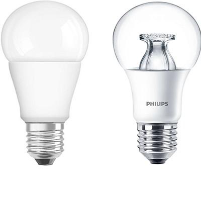 Normál izzó forma E27 LED