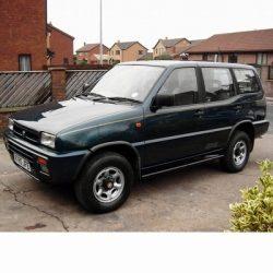 Autó izzók halogén izzóval szerelt Nissan Terrano (1993-1999)-hoz