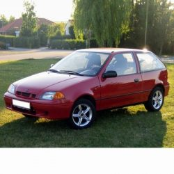 Suzuki Swift (1988-2003) autó izzó