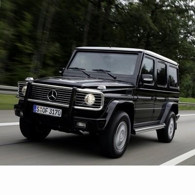 Autó izzók az 1990 utáni halogén izzóval szerelt Mercedes G-hez