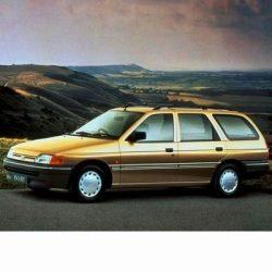 Ford Escort Kombi (1990-1995) autó izzó