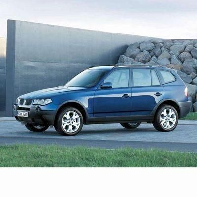 Autó izzók xenon izzóval szerelt BMW X3 (2004-2006)-hoz