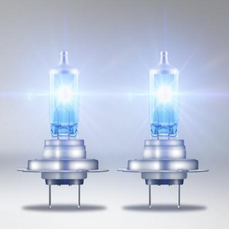 Emelt fényű, emelt színhőméréskletű H7 izzó