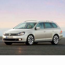 For Volkswagen Golf VI Variant (2009-2013) with Halogen Lamps