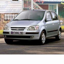 Autó izzók halogén izzóval szerelt Hyundai Getz (2002-2009)-hez