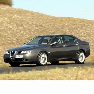 Autó izzók bi-xenon fényszóróval szerelt Alfa Romeo 166 (2004-2008)-hoz