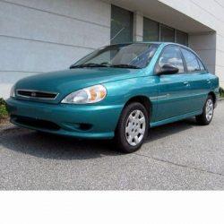 For Kia Rio Sedan (2000-2005) with Halogen Lamps