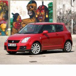 Autó izzók halogén izzóval szerelt Suzuki Swift (2004-2010)-hez