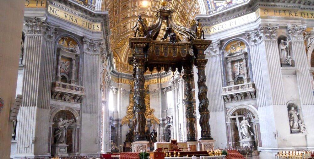 Giovanni Lorenzo Bernini / Baldacchinoja