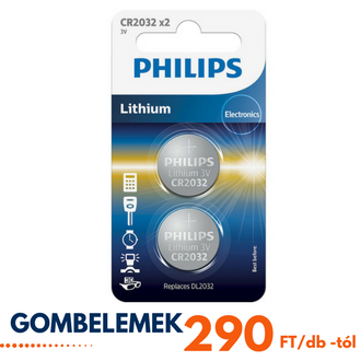 Philips gombelemek